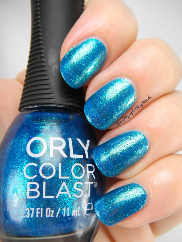Orly Color Blast Fathoms Below | Be Happy And Buy Polish