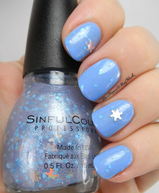 Sinful Colors Flake Out over Sail La Vie | Be Happy And Buy Polish