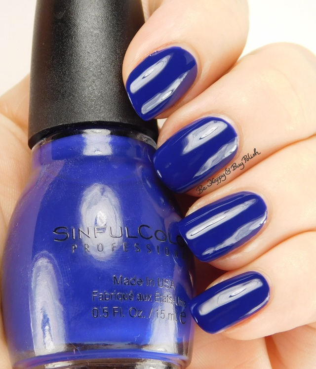 Sinful Colors Into the Blue | Be Happy And Buy Polish