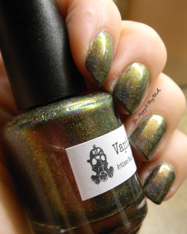 Vapid Lacquer Spellcaster green shift | Be Happy And Buy Polish