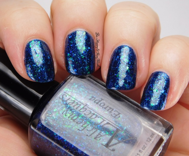 Alchemy Lacquers Europa side pose | Be Happy And Buy Polish