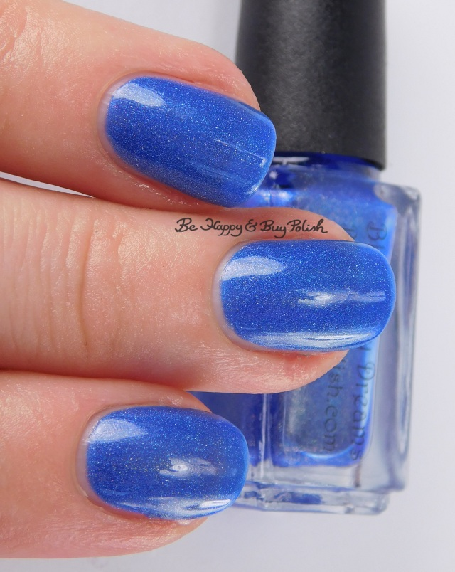 Bad Bitch Polish Blueberry Dreams 3-finger pose | Be Happy And Buy Polish