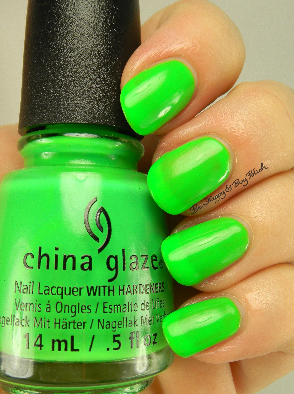 China Glaze Presenta Crakle Glaze: China Glaze Halloween Nail Polishes Swatch + Review