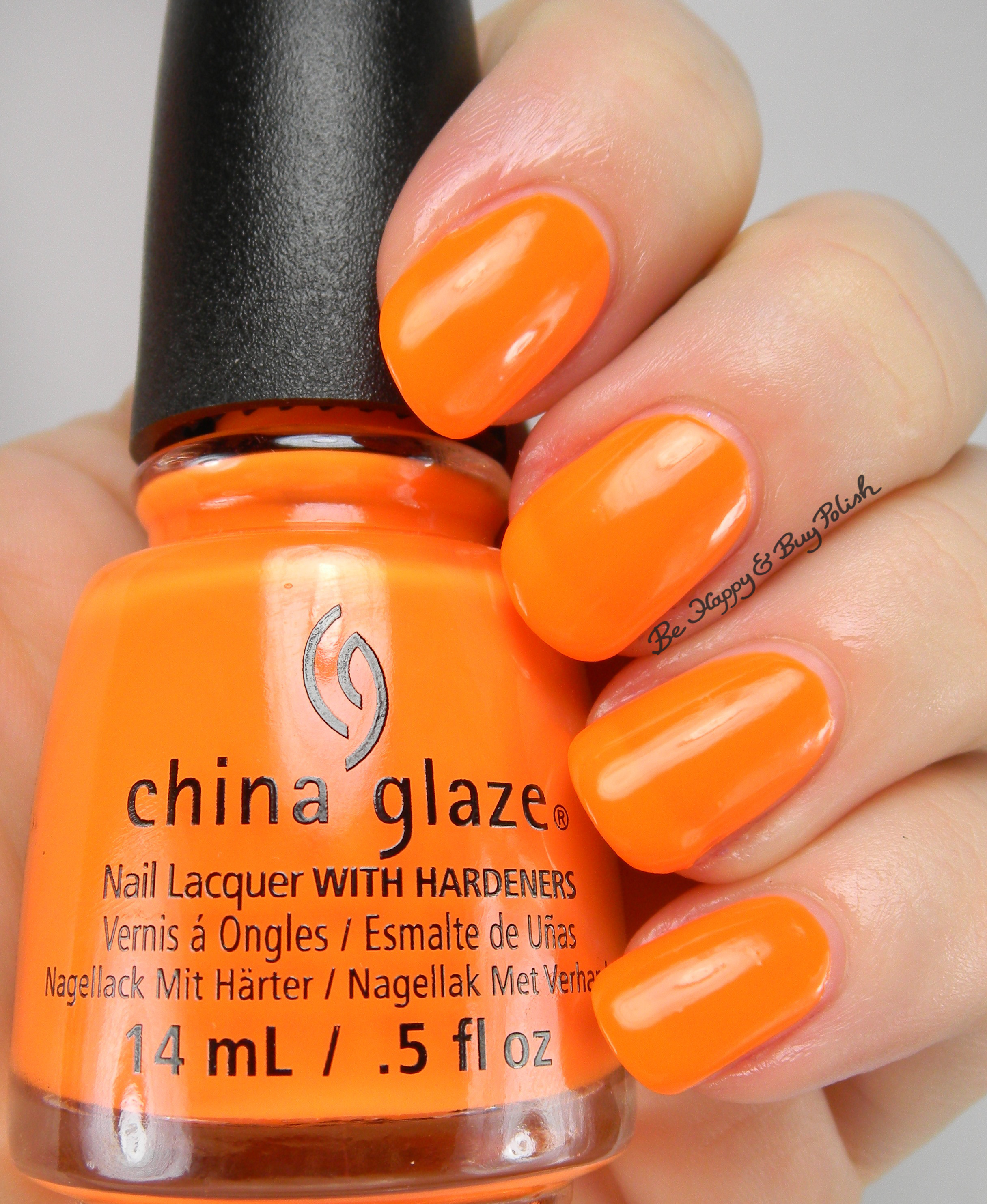 China Glaze Halloween nail polishes swatch + review [partial] | Be ...