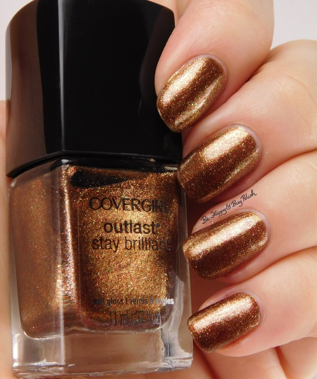 CoverGirl Seared Bronze | Be Happy And Buy Polish
