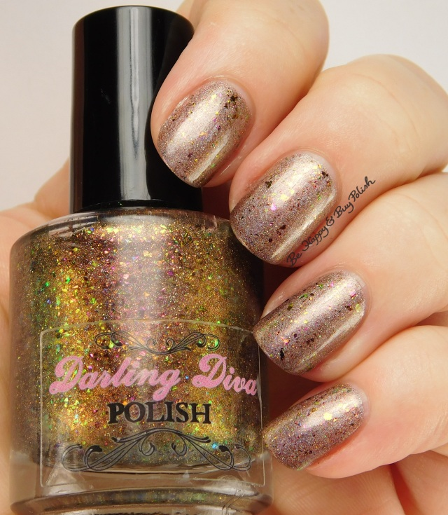 Darling Diva Polish Cover It In Gravy over Firecracker Lacquer Stuff That Turkey | Be Happy And Buy Polish