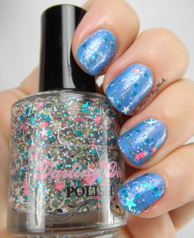 Darling Diva Polish Weekend Rockstar over Darling Diva A-ffirmative | Be Happy And Buy Polish