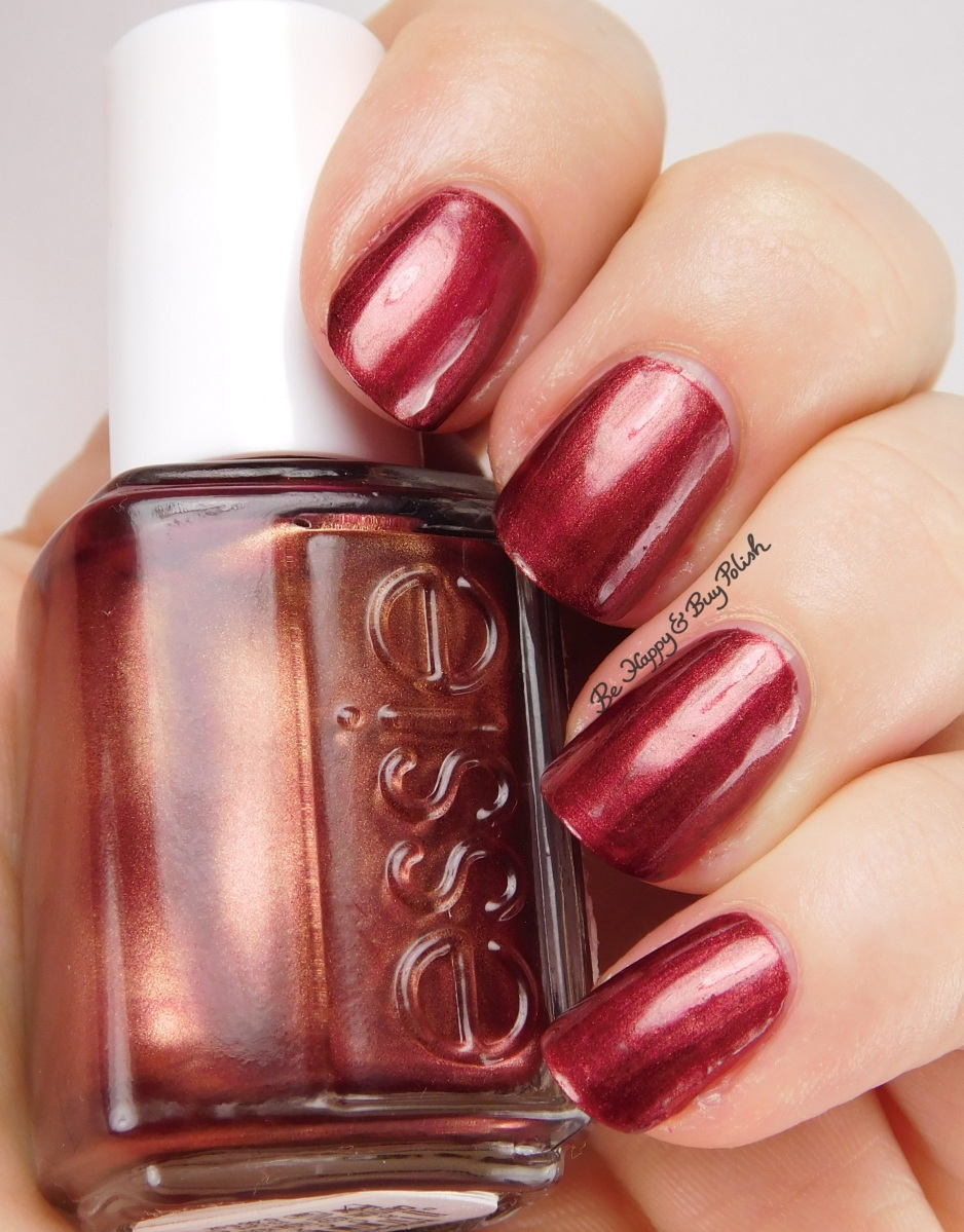 Essie Wrapped In Rubies Swatch Review Be Happy And Buy Polish