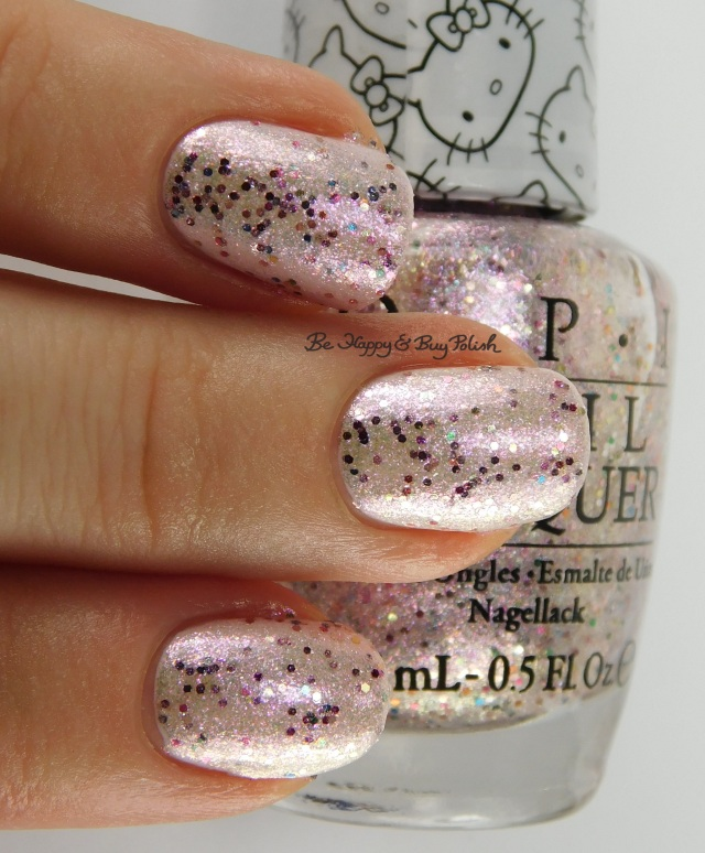 Hello Kitty OPI Charmmy & Sugar over Let's Be Friends | Be Happy And Buy Polish