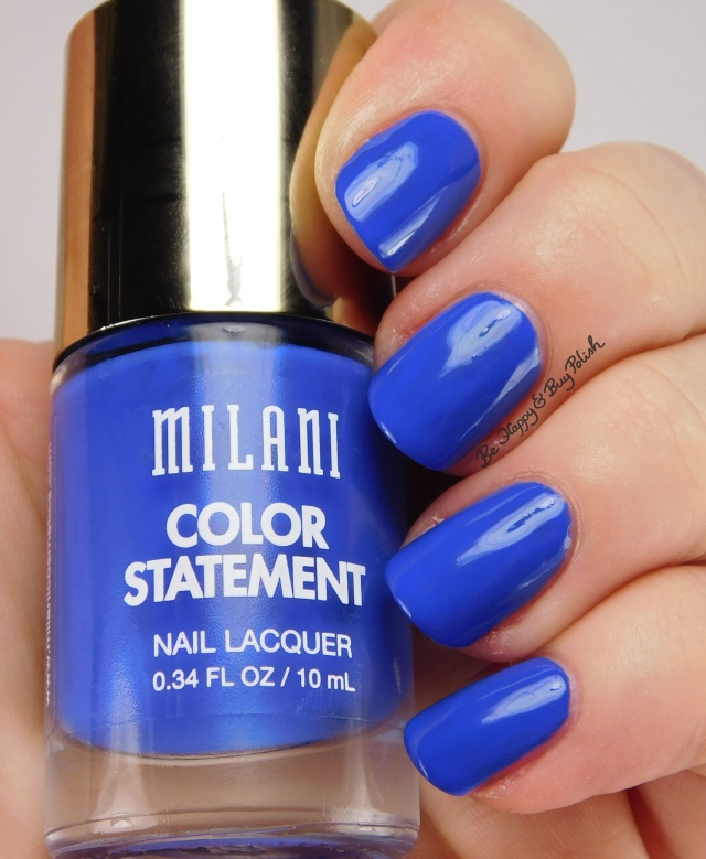 Milani Blue Print | Be Happy And Buy Polish