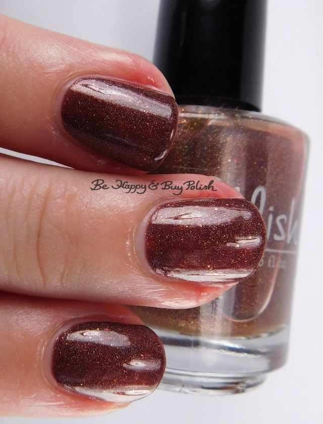 Pahlish Count Chocula's Cape 3-finger pose | Be Happy And Buy Polish