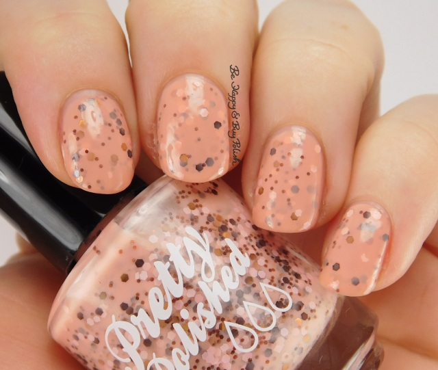 Pretty & Polished Rustic Charm side pose | Be Happy And Buy Polish