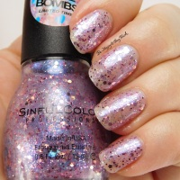 Sinful Colors Love Bombs nail polish swatch + review