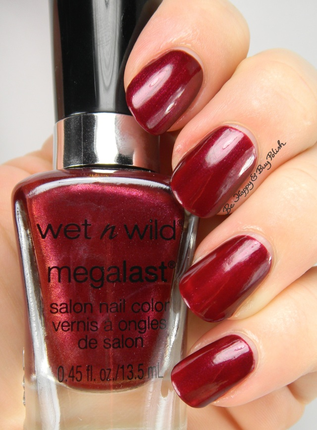 Wet N Wild Stop and Mel-the-Roses | Be Happy And Buy Polish