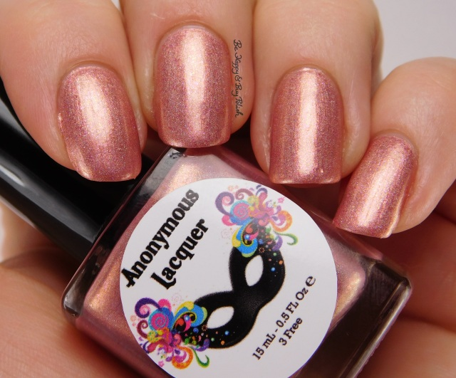 Anonymous Lacquer Make Midas Blush | Be Happy And Buy Polish