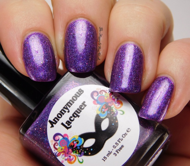 Anonymous Lacquer Muah! | Be Happy And Buy Polish