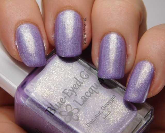 Blue-Eyed Girl Lacquer Atalanta | Be Happy And Buy Polish