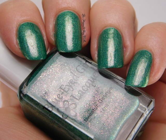 Blue-Eyed Girl Lacquer Mermaid Tales & Drunken Sails | Be Happy And Buy Polish