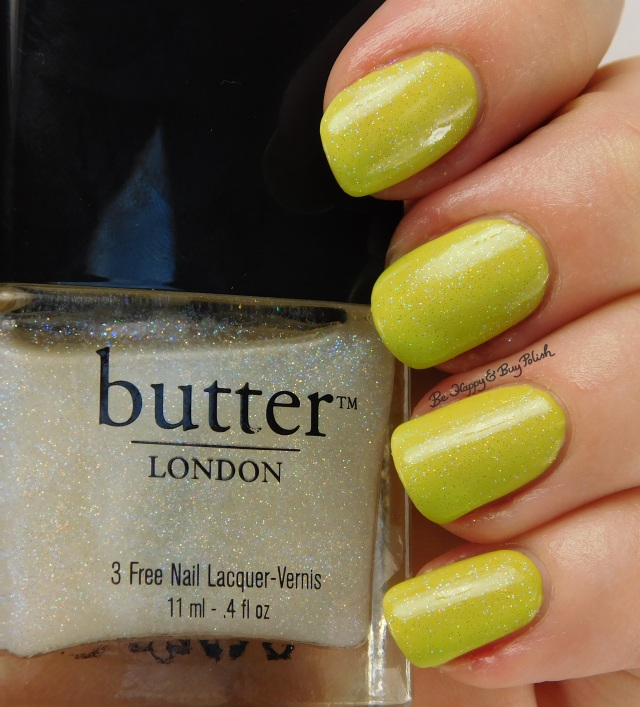 butter LONDON Frilly Knickers over China Glaze S'more Fun | Be Happy And Buy Polish