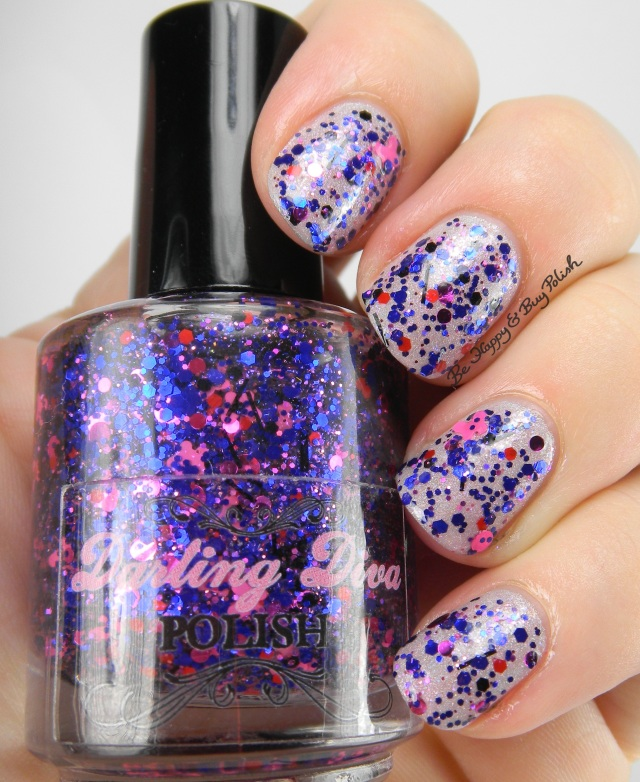Darling Diva Polish Psylocke over Darling Diva Mother | Be Happy And Buy Polish