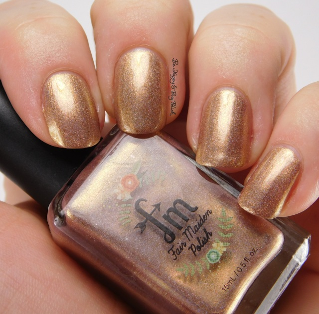 Fair Maiden Polish Secret Garden side pose | Be Happy And Buy Polish