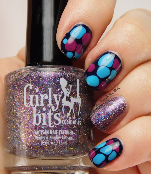 Girly Bits blobbicure with Witch I'm Fabulous! accent nail | Be Happy And Buy Polish
