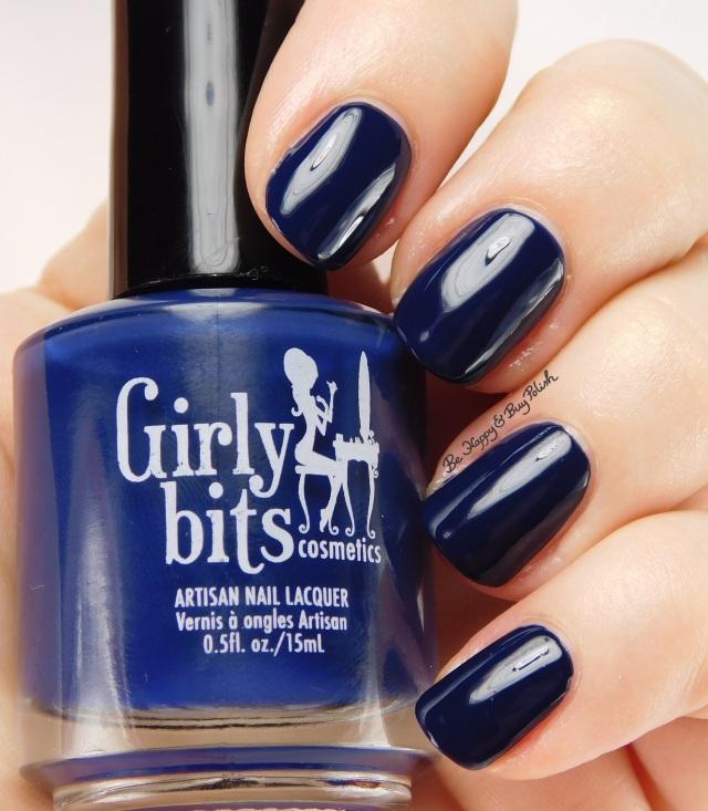 Girly Bits Blue Christmas   Be Happy And Buy Polish