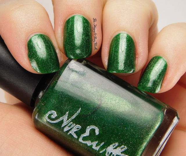 Nvr Enuff Polish Festivus side pose | Be Happy And Buy Polish