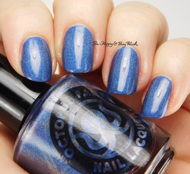 Octopus Party Nail Lacquer Indikon side pose | Be Happy And Buy Polish