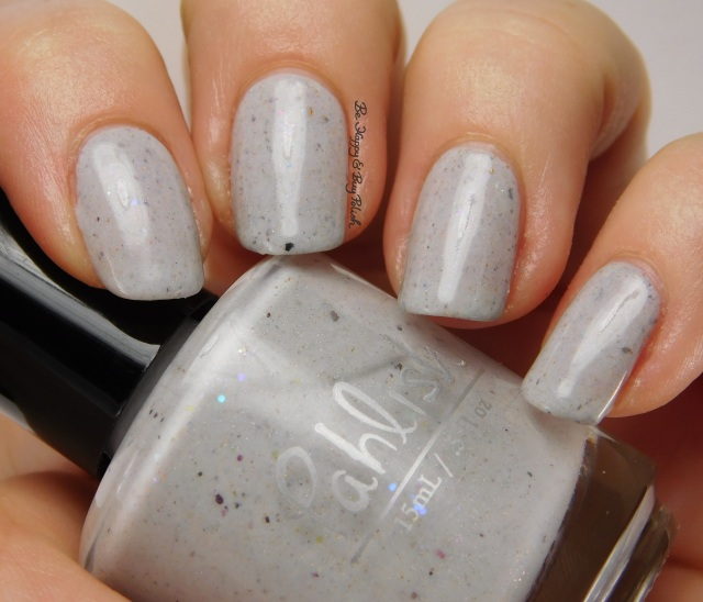Pahlish white grey flakie mystery | Be Happy And Buy Polish