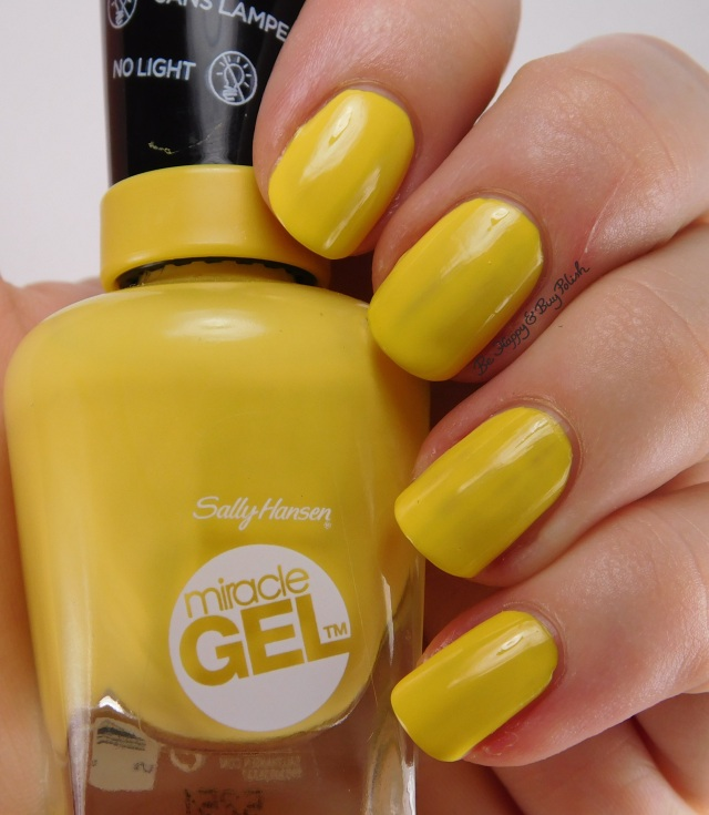 Sally Hansen Miracle Gel Gigabryte | Be Happy And Buy Polish