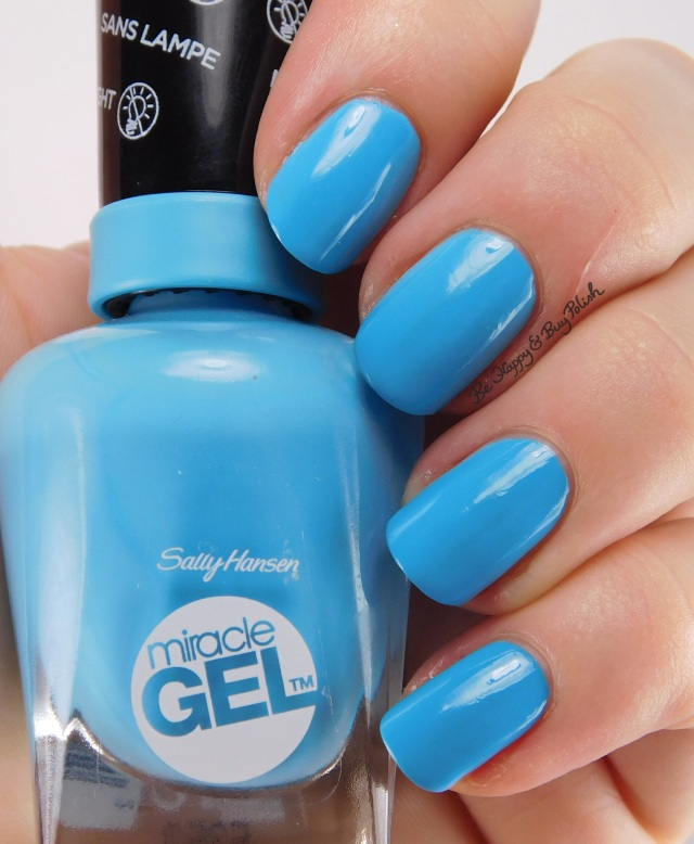 Sally Hansen Miracle Gel Let's Get Digital | Be Happy And Buy Polish