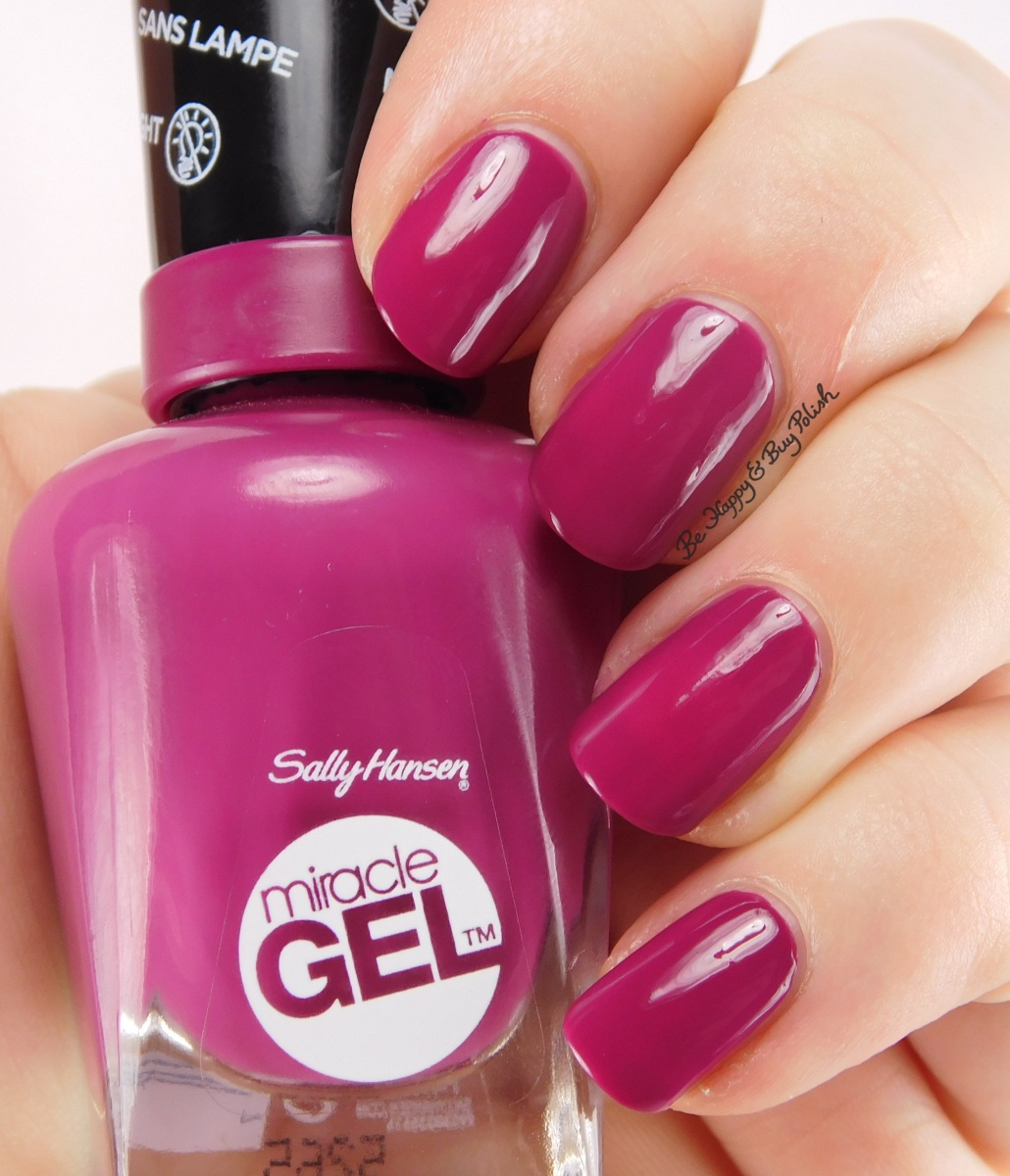 Sally Hansen Miracle Gel Motley Hue [Glam Rock collection] swatch + review