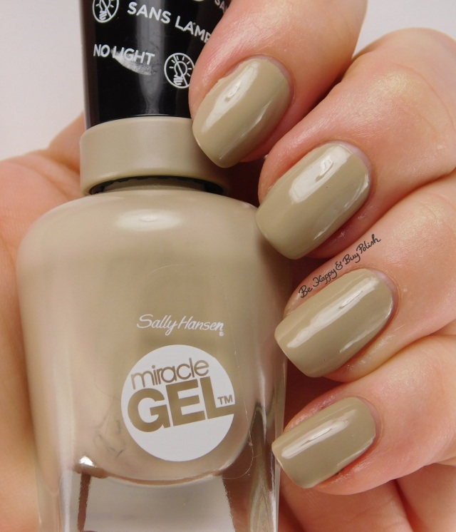 Sally Hansen Miracle Gel Twiggy | Be Happy And Buy Polish