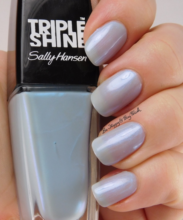 Sally Hansen Triple Shine Make A Splash | Be Happy And Buy Polish