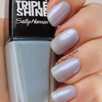 Sally Hansen Make a Splash nail polish swatch + review