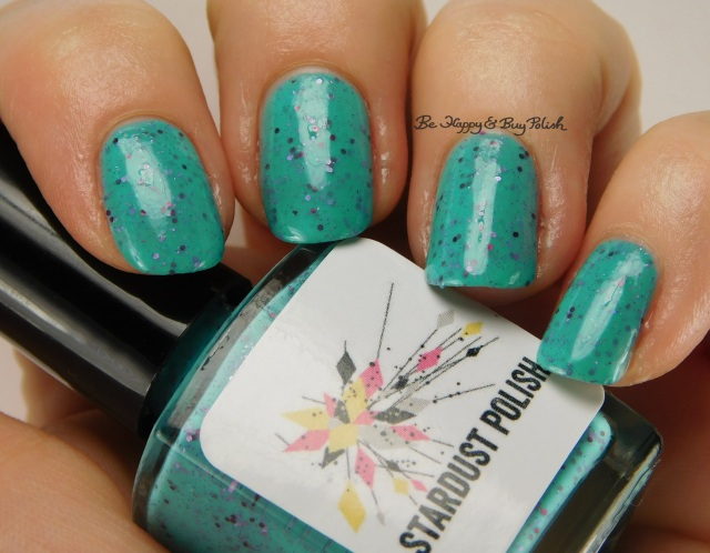 Stardust Polish Water Lilies side pose | Be Happy And Buy Polish