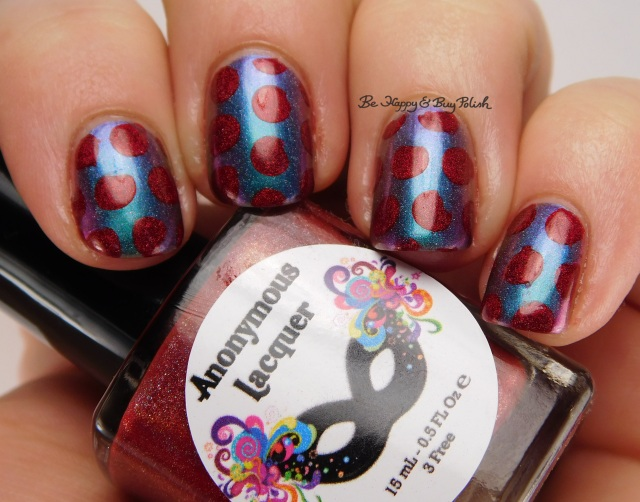 Anonymous Lacquer Wrath, Enchanted Polish Magical Mystery Tour, Sweet Lacquer Nail Vinyls medium dots | Be Happy And Buy Polish | Be Happy And Buy Polish