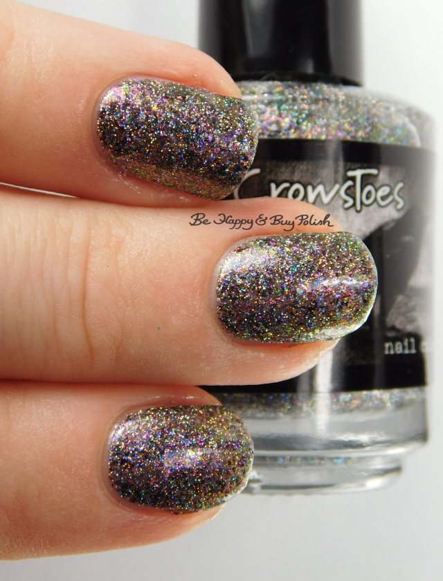 CrowsToes Nail Color Abracadabra 3-finger pose | Be Happy And Buy Polish
