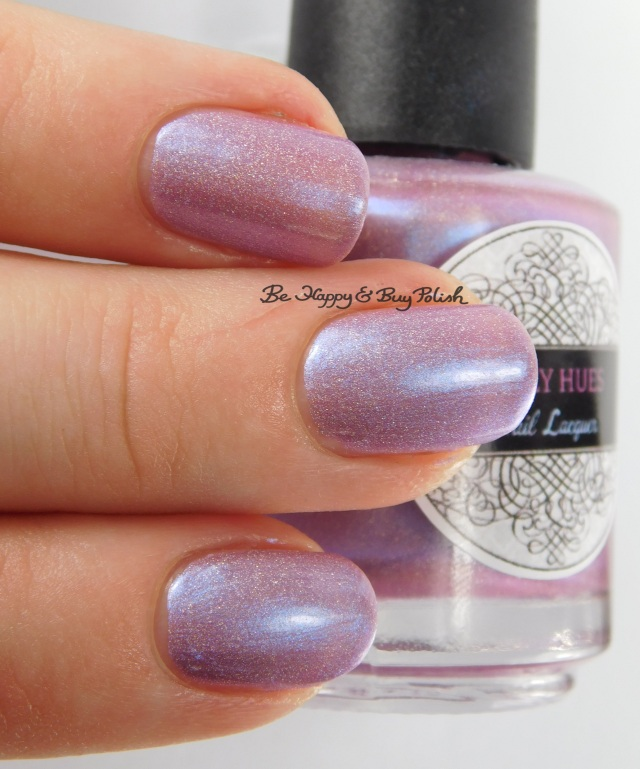 Daily Hues Nail Lacquer Amy 3-finger pose | Be Happy And Buy Polish