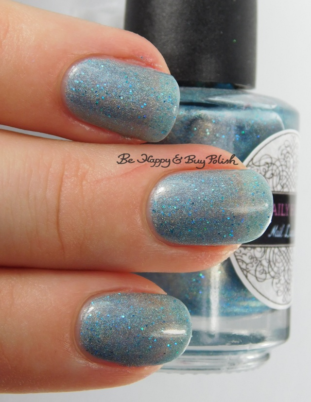 Daily Hues Nail Lacquer Jessica 3-finger pose | Be Happy And Buy Polish