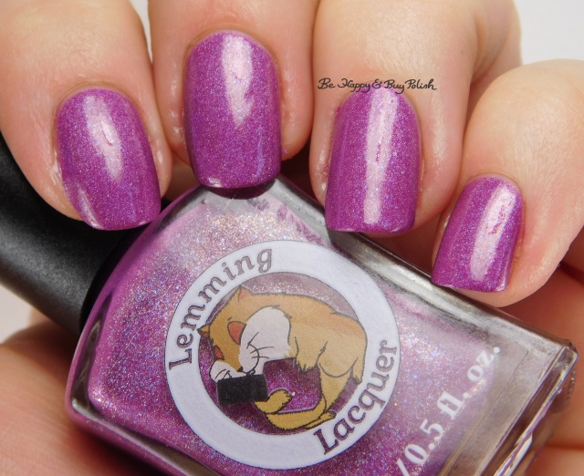 Lemming Lacquer Gimme a Boost & Call Me Invincible | Be Happy And Buy Polish