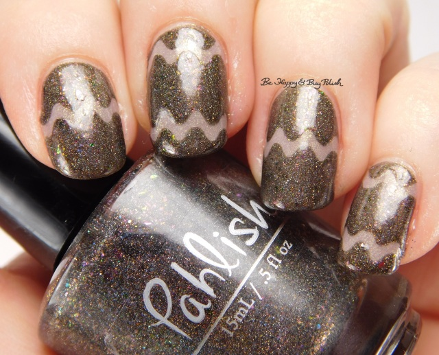 Pahlish Statue of a Girl + Sinful Colors Prosecco | Be Happy And Buy Polish