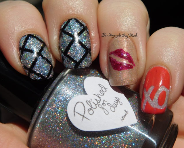 Polished for Days P.Y.T, Vapid Lacquer Surprise I'm Drunk, Pretty & Polished Candy Kiss, Sweet Lacquer vinyls sun photo | Be Happy And Buy Polish