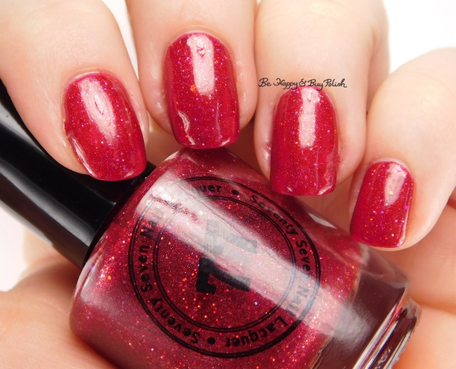 Seventy-Seven Nail Lacquer It's-A-Me | Be Happy And Buy Polish