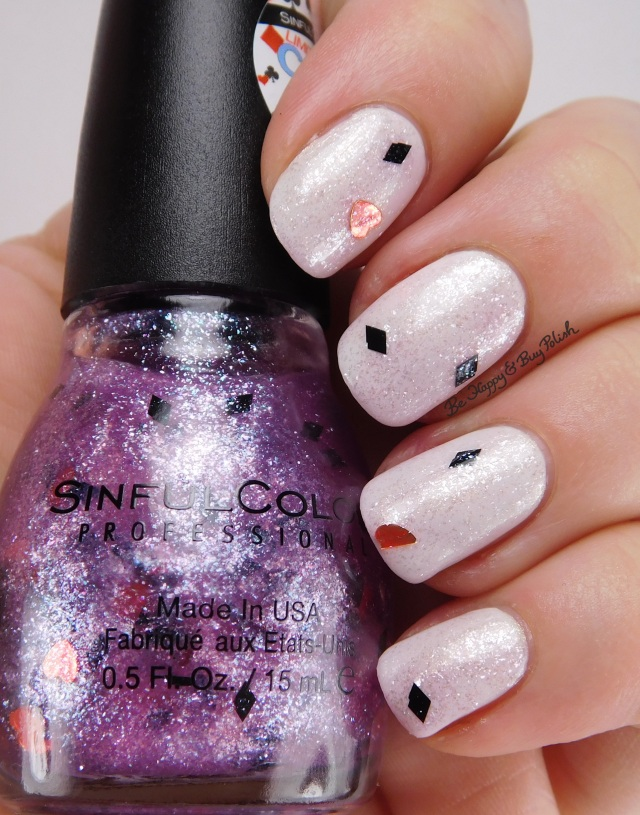 Sinful Colors I'm All In over Trump Card | Be Happy And Buy Polish