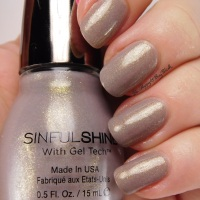 Sinful Colors Prosecco nail polish swatch + review