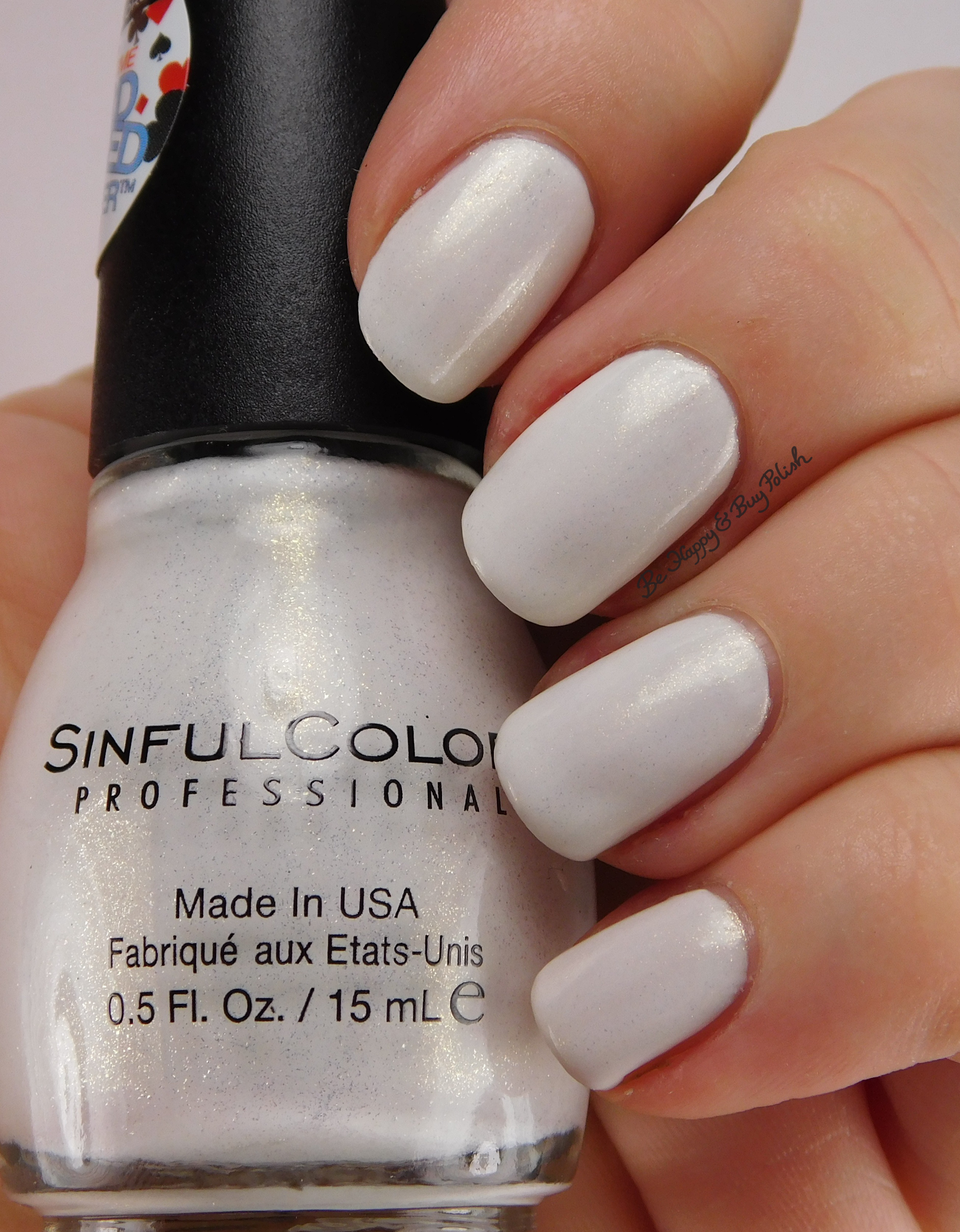 SinfulColors Card-ed Glitter nail polish collection | Be Happy and ...