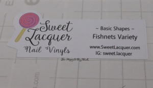 Sweet Lacquer Nail Vinyls Fishnets Variety   Be Happy And Buy Polish