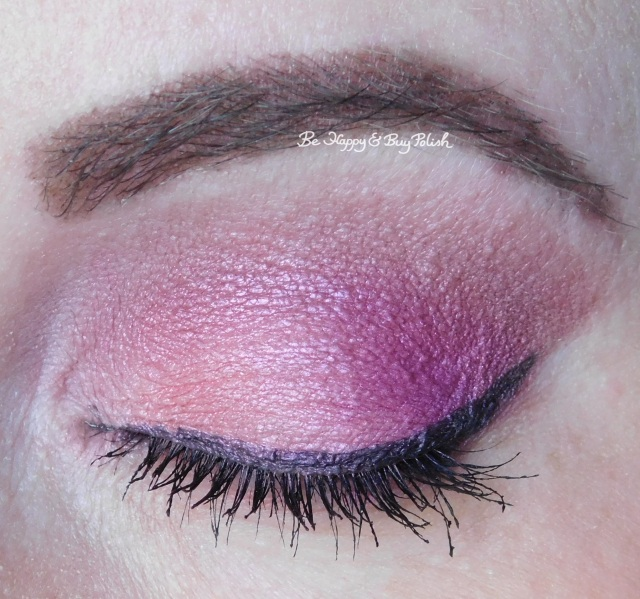 Urban Decay Fast-Ball, 1985, Underhand closed eye closeup | Be Happy And Buy Polish